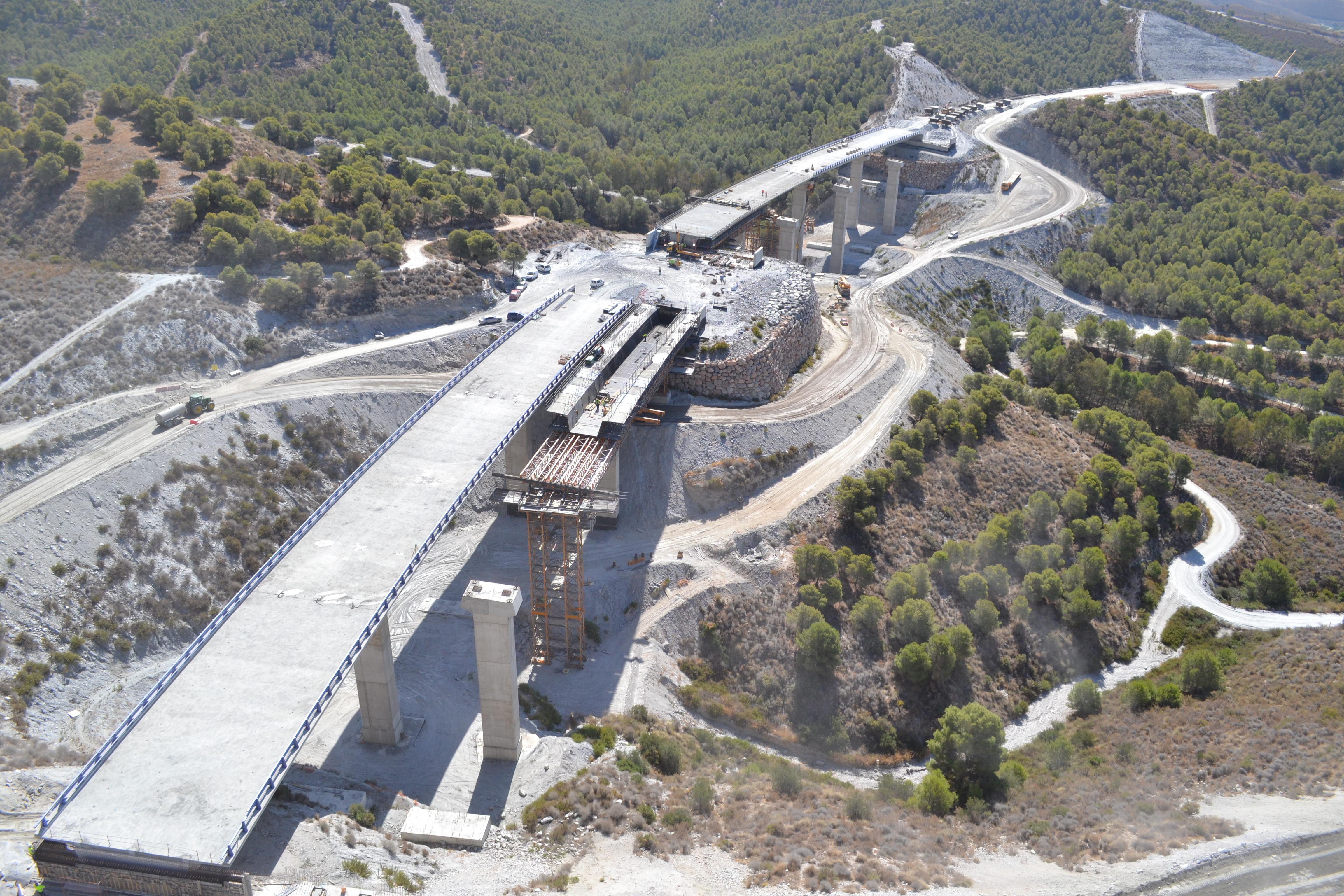 Roads in Spain