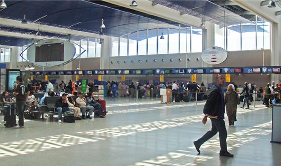 Resultado de imagen de casablanca airport