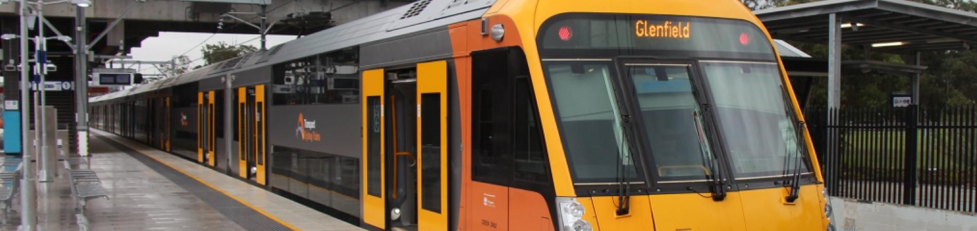 Modernización de la red ferroviaria de cercanías de Sídney