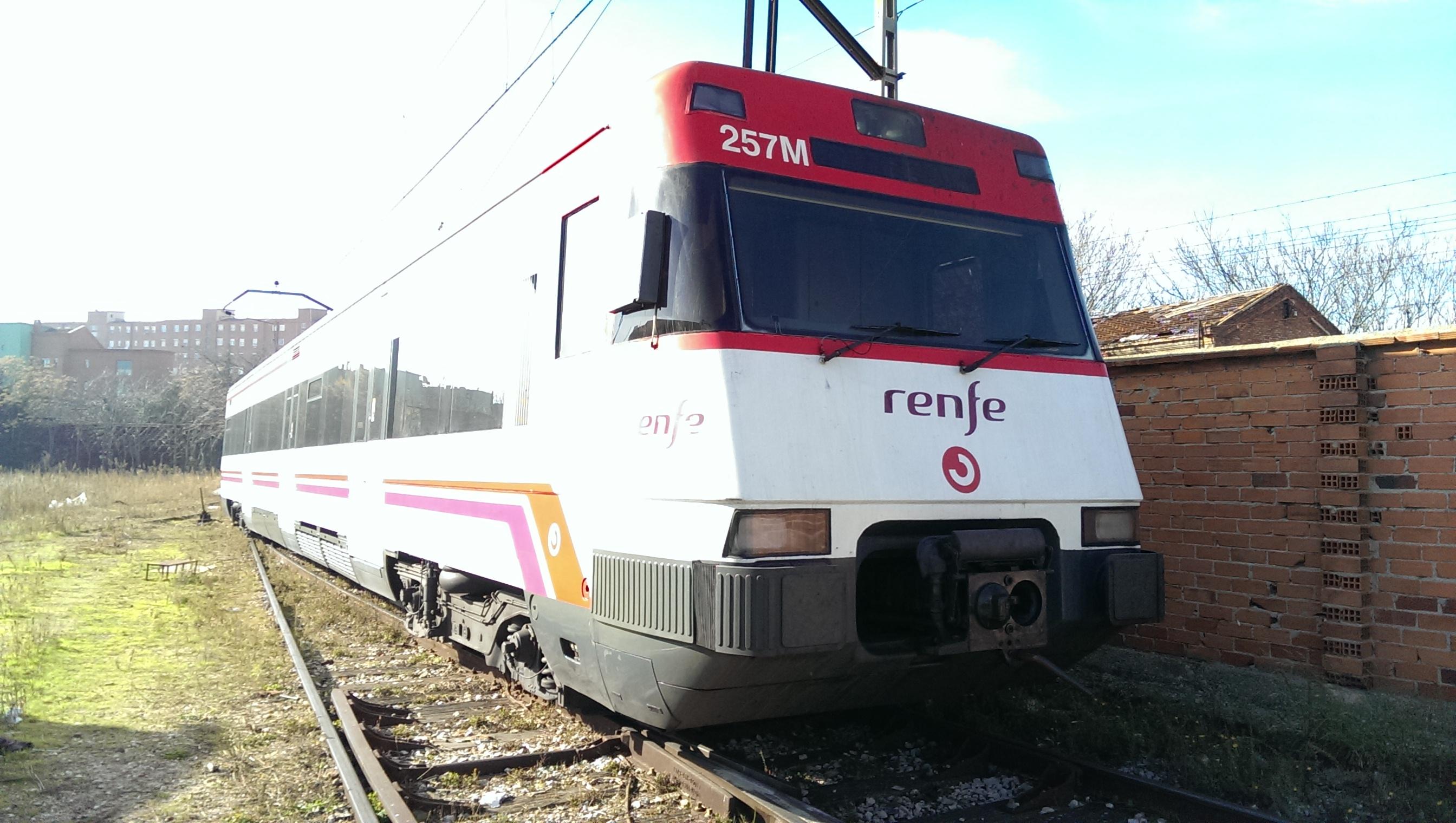 Monitorización de Fabricación y Puesta en Servicio de Trenes Convencionales en España
