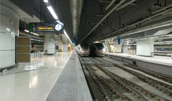Ampliaci N Y Mejora De La Estaci N De Sants En Barcelona